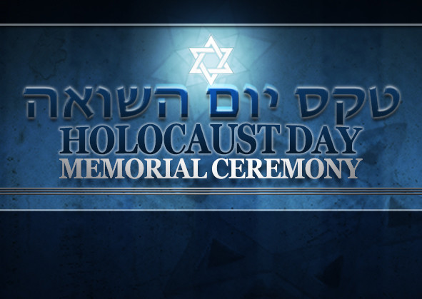 A Holocaust Memorial Ceremony